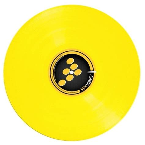 mixvibes control record color lp yellow en vente sur