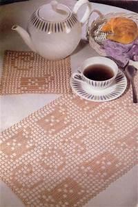 Set De Table Au Crochet : sets de table crochet set de table tricot et crochet ~ Melissatoandfro.com Idées de Décoration