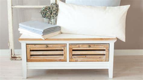 agr 233 able meuble d entree ikea 7 un banc coffre blanc pour un int233rieur 233l233gant et