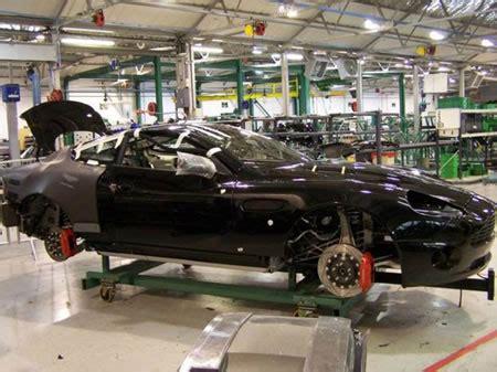 Rare Glimpse Inside Aston Martin Factory—where The Magic