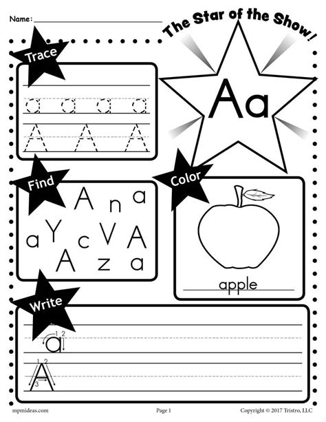 alphabet worksheets tracing coloring writing