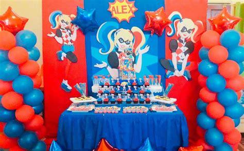 harley quinn birthday party ideas photo    catch
