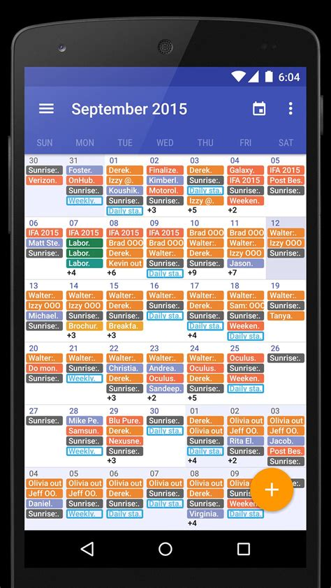 Today Calendar for Android - APK Download