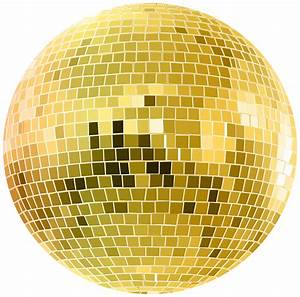 Gold Disco Ball Transparent Clip Art Image | Gallery ...