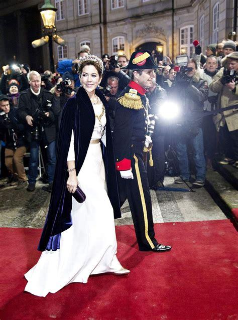 danish royal family   years reception