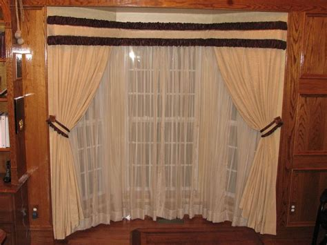 bay window bay window traverse rod