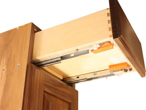 cabinet drawer boxes attach drawer fronts
