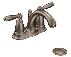 moen brantford kitchen faucet rubbed bronze moen 6610orb brantford 2 handle lavatory faucet with drain assembly rubbed bronze not ca