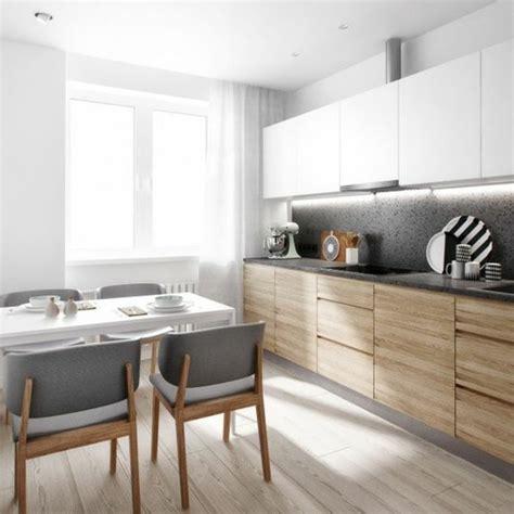 cuisine gris et cuisine gris blanc et bois chaios com