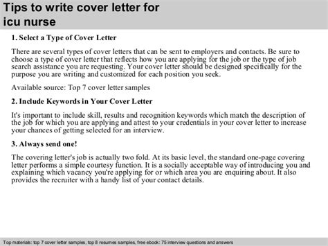 Icu Resume Cover Letter by Icu Cover Letter