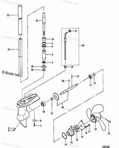 Mercury Mercury  U0026 Mariner Outboard Parts By Hp  U0026 Liter 2 2hp Oem Parts Diagram For Gear Housing