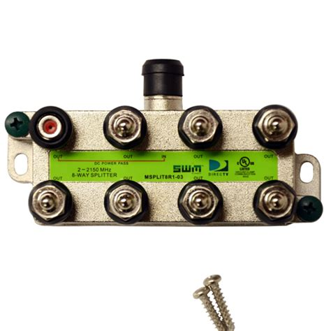 directv approved swm   splitter msplitr