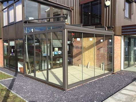 improving our showroom with a working glass garden room