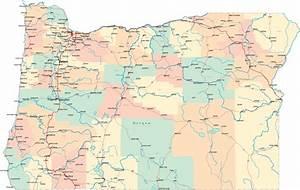 Oregon Road Map - OR Road Map - Oregon Highway Map Oregon
