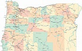 Oregon Road Map - OR Road Map - Oregon Highway Map