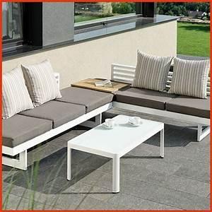 Mobilier Jardin Pas Cher : salon de jardin en aluminium pas cher awesome salon de ~ Melissatoandfro.com Idées de Décoration