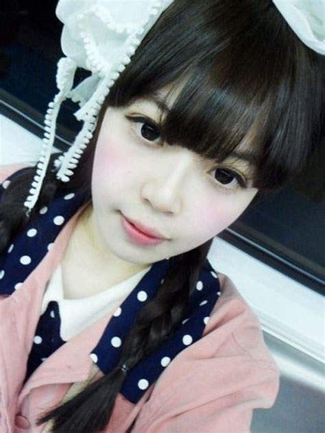 beautiful korean dolls revealed  bare face