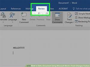 how to edit a document using microsoft word39s track With word documents editor