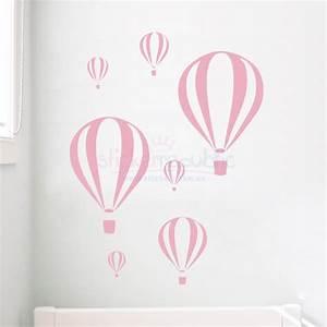 Seven Hot Air Balloon Wall Sticker Decal