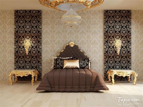 marvelous bedrooms  astonishing gold accents
