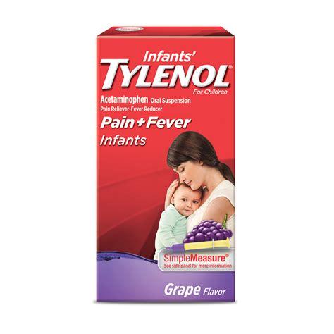 Baby Tylenol Com Tylenol Infants Oral Suspension Grape Flavor