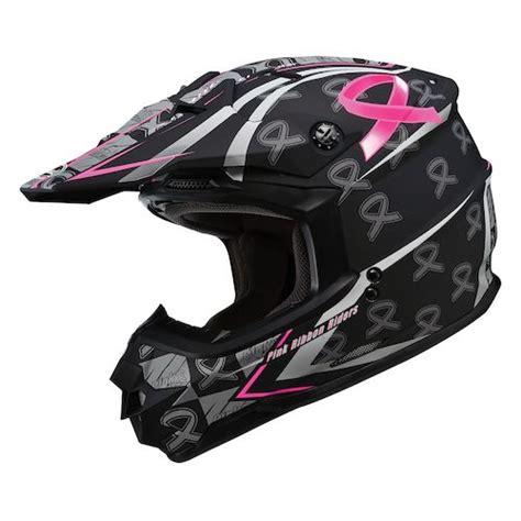 pink motocross helmets gmax gm76x pink ribbon helmet size xl only revzilla