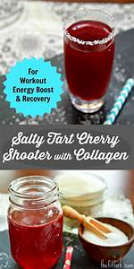 Salty Tart Cherry Shooter With L