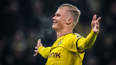 Based on two goal, two (could have been three) assist performance against eintracht frankfurt yesterday, it might not be so easy. Erling Haaland's exciting rise to stardom - ESPN Video