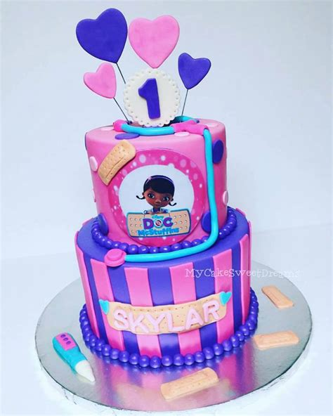 Cookies For Baby Boy Shower by Quot My Cake Sweet Dreams Quot Doc Mcstuffins 1st Birthday Cake