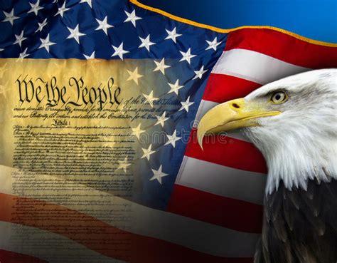 Patriotic Symbols - United States Of America Stock Photo ...