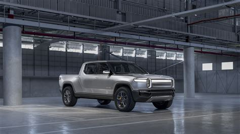 rivian rt electric truck middle fingers tesla