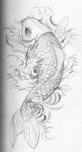 Koi Tattoo Vorlagen : koi fish tattoo meaning ~ Frokenaadalensverden.com Haus und Dekorationen