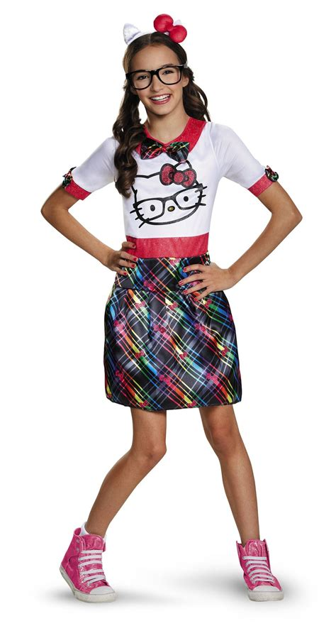 What Does Nerd Stand For by Kids Hello Kitty Nerd Girls Tween Costume 35 99 The