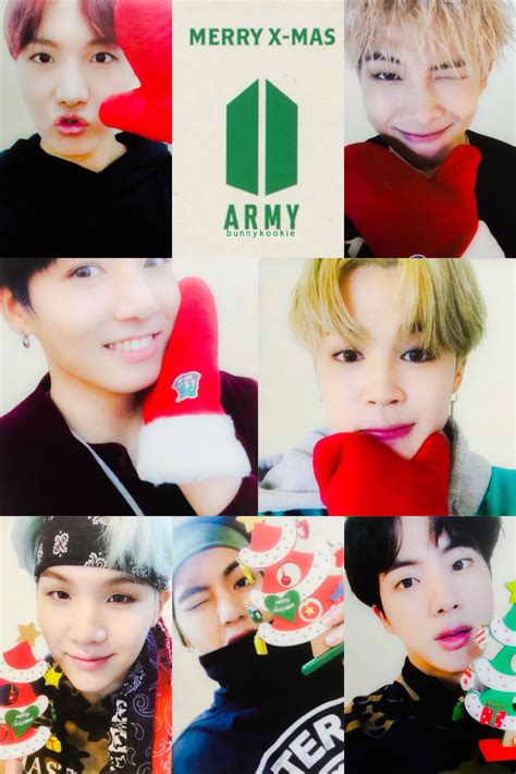 Merry Christmas ~ #BTS #BTSxARMYs 방탄소년단 • New Year's ...