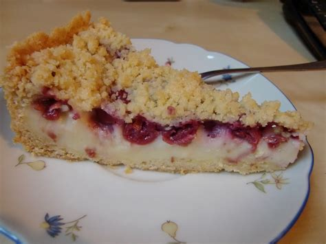 Kuchen Mit Kastenform Und Kirschen La Vie Gourmande Kirsch Streusel Kuchen Mit Pudding