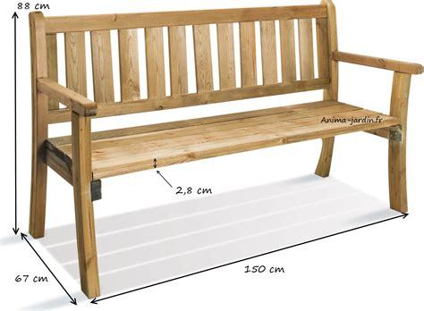 banc de cuisine en bois avec dossier banc en bois avec dossier 150 cm philadelphia achat vente