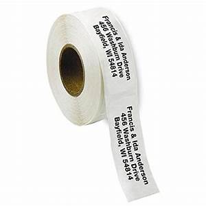 compare price to clear address labels personalized With clear return address labels roll