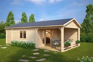 Gartenhaus Mit überdachter Terrasse : gro es gartenhaus mit terrasse heinz 22m 58mm 4x9 hansagarten24 ~ One.caynefoto.club Haus und Dekorationen