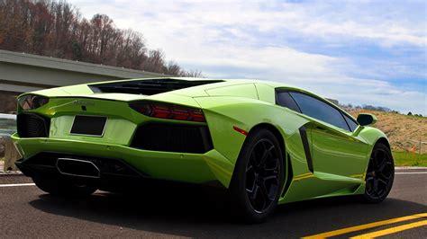 Green Lamborghini Concept Car, Green Lamborghini Hd