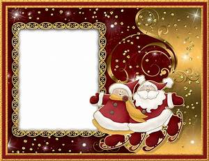 Christmas Red and Gold PNG Photo Frame   Gallery ...