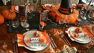 Deco de table theme halloween - julie bas