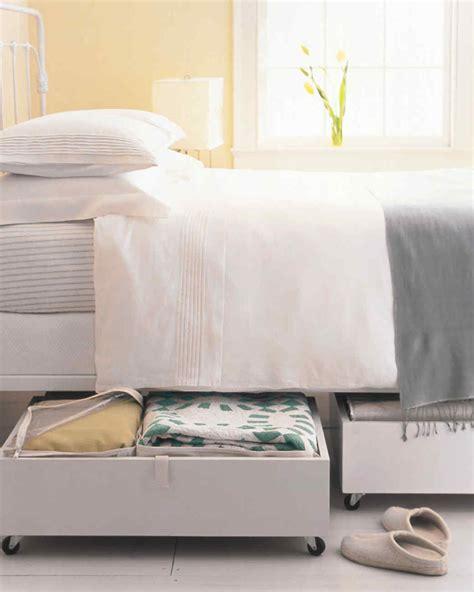 bedroom organization tricks martha stewart