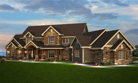 Traditional Style Home Floor Plan #1611003  Six Bedrooms