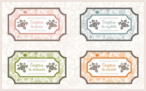 etiquettes pour pots de confiture a imprimer gratuitement etiquettes de confiture lotica