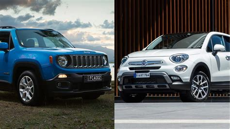 Jeep And Fiat by Jeep Renegade Vs Fiat 500x Review Carsguide