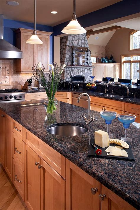 Brown Granite Countertops by Brown Granite Countertops Pictures Cost Pros And Cons
