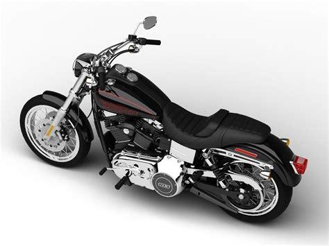 Harley-davidson Fxdl Dyna Low Rider 2015 3d Model .max