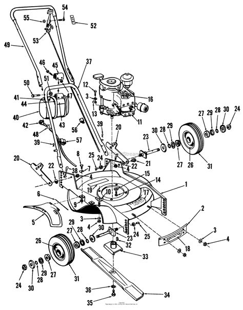Toro Professional Whirlwind Lawnmower