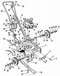 Toro Professional 23000  Whirlwind Lawnmower  1964  Sn