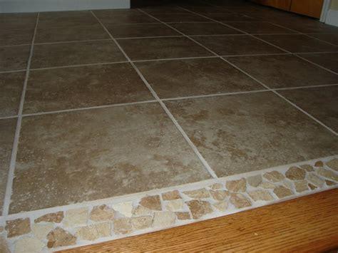 ceramic tile floor w mosaic trim edgerton ohio